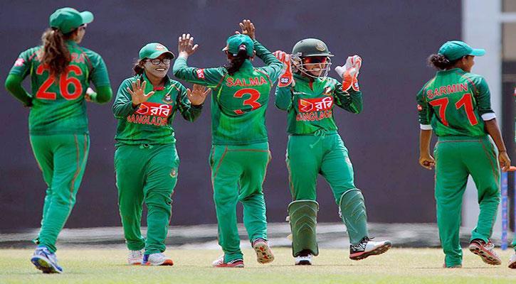 এশিয়া কাপের ফাইনালে বাংলাদেশ নারী ক্রিকেট দল