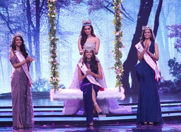 মিস ইন্ডিয়া-২০১৮ তামিলনাড়ুর অনুকৃতি ভাস