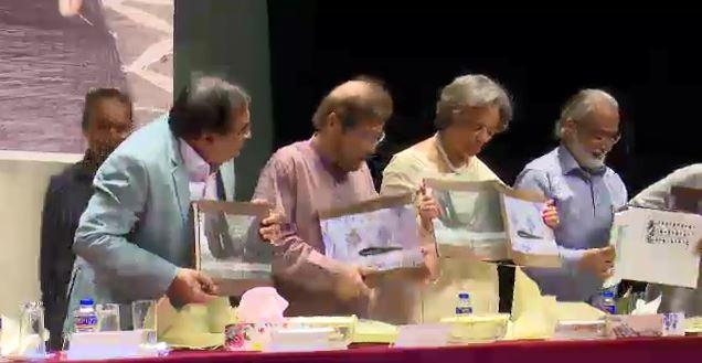 'জামদানির নকশা' বইয়ের মোড়ক উন্মোচন