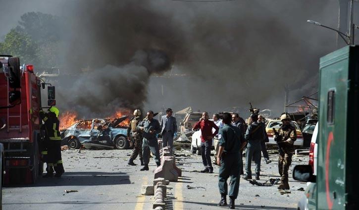 আফগানিস্তানের কাবুলে আত্মঘাতী বোমা হামলায় নিহত ৪৮