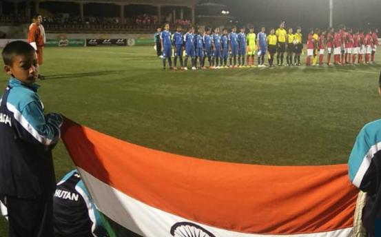 সাফ অনূর্ধ্ব–১৫ ফুটবল: চ্যাম্পিয়ন ভারত, রানার্স আপ বাংলাদেশ