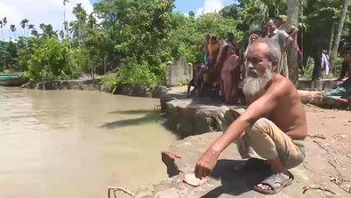৩০ বছরের মধ্যে সবচেয়ে বেশি নদী ভাঙনের মুখোমুখি বরিশাল