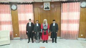 শপথ নিলেন আপিল বিভাগের তিন বিচারপতি