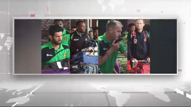 ঢাকায় এসেছে জিম্বাবুয়ে ক্রিকেট দল
