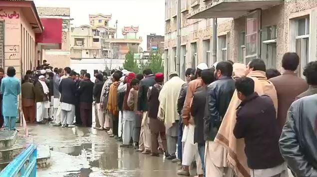 কড়া নিরাপত্তায় ভোটগ্রহণ চলছে আফগানিস্তানে