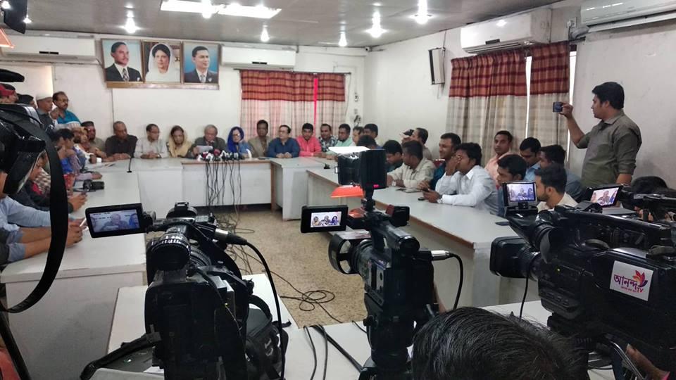 'প্রধানমন্ত্রীর আক্রোশেই মনোনয়ন বাতিল হয়েছে'