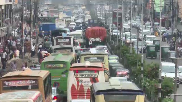 'ঢাকা বিশ্বের এক নম্বর যানজটের শহর'