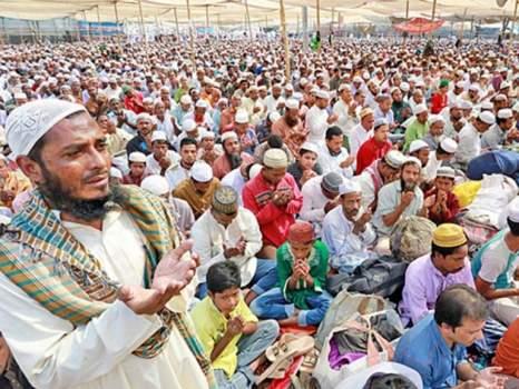 মুসলিম উম্মাহর শান্তি ও সমৃদ্ধি কামনায় শেষ হল বিশ্ব ইজতেমা