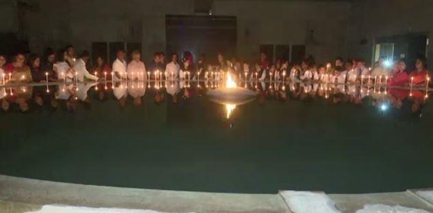 ব্ল্যাক আউটসহ নানা কর্মসূচিতে গণহত্যা দিবস পালিত