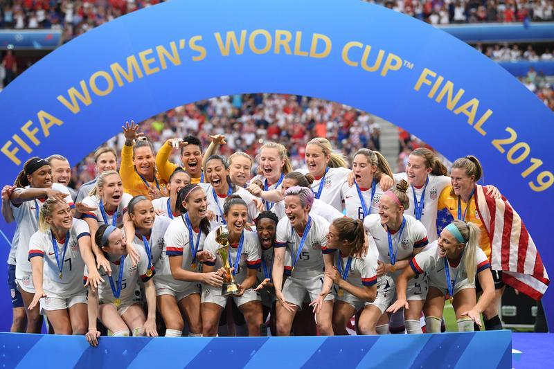 নারী ফুটবল বিশ্বকাপের চ্যাম্পিয়ন যুক্তরাষ্ট্র