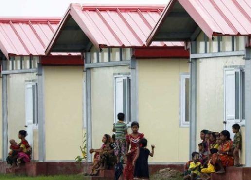 রোহিঙ্গাদের জন্য ২৫০ ঘর দিয়েছে ভারত