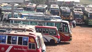 সিরাজগঞ্জ-ঢাকা রুটে সব ধরনের বাস চলাচল বন্ধ
