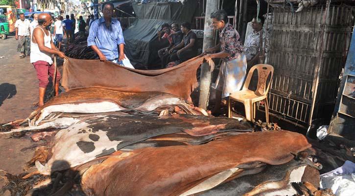 চামড়া নিয়ে বিপাকে চট্টগ্রামের আড়তদাররা