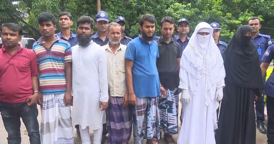 রাজশাহীতে আট শিবির কর্মী আটক