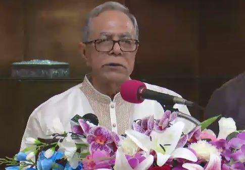 কল্যাণকামী সমাজ গড়ার আহ্বান রাষ্ট্রপতির